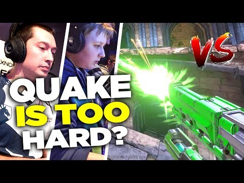 Quake Champions is Too Difficult