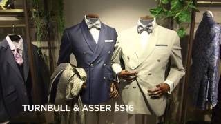 Turnbull & Asser SS16 at London Collections Men