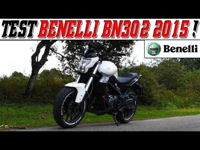 #MotoVlog 186 : TEST BENELLI BN302 38ch 2015 / Une ER6 en 300 cc ?!