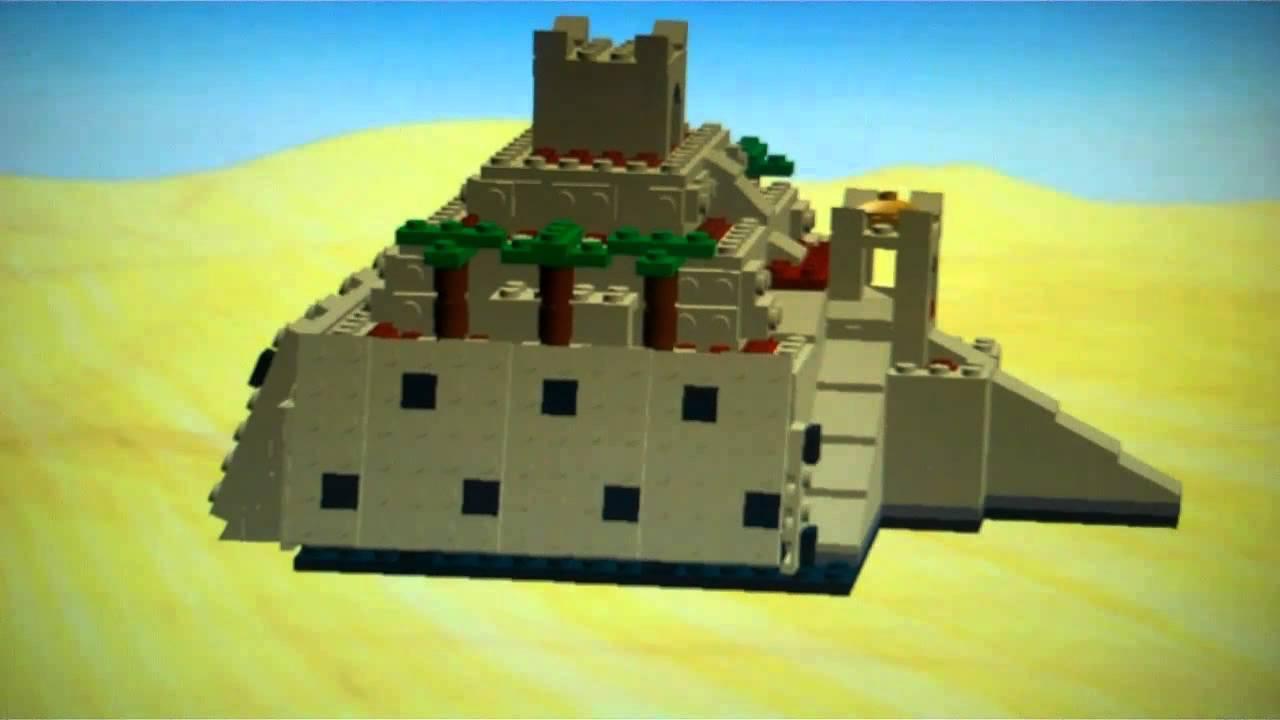 Spencers Lego Ziggurat Of Ur