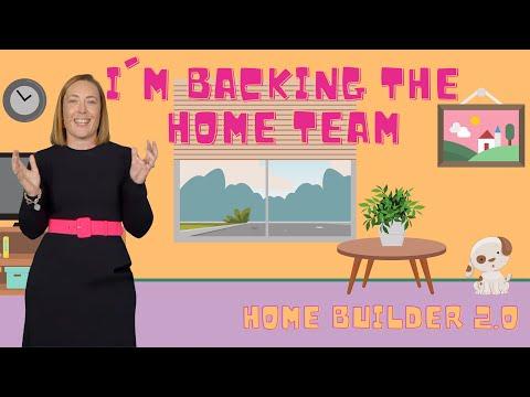 I'm Backing The Home Team - Ps Rachel Main