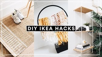 DIY IKEA HACKS - Super Affordable, Aesthetic + EASY! (2019) // Lone Fox