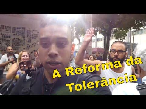 Ato contra a Reforma da Previdência é desmascarado por Gabriel Monteiro