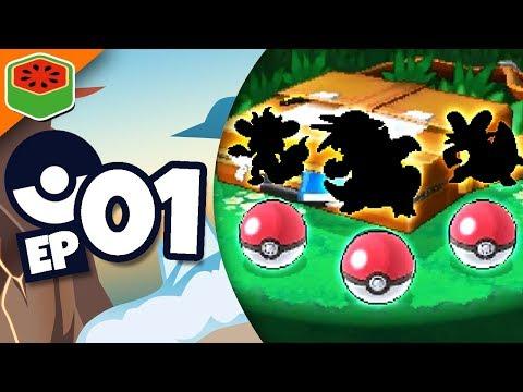 LOOK AT THESE STARTERS! | Pokemon Alpha Sapphire Randomized Nuzlocke #1