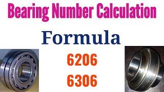 Bearing Number Calculation Formula