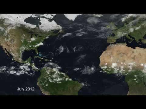 Hurricanes in the Atlantic 2012