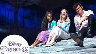 Touring The Little Mermaid Live Set with Graham Phillips! | Disney Princess