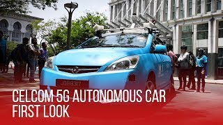Celcom 5G Autonomous Car | First Look - A Glimpse Into The Future