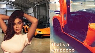 Kylie Jenner Shows Off Her INSANE Car Collection!