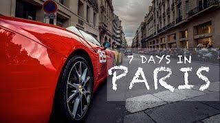One week in Paris   Travel Video