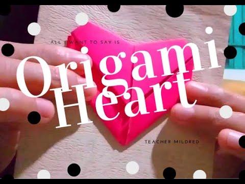 Heart Origami | DIY Valentine's Card