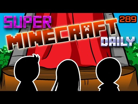 THE CURTAINS RISE, A GUEST ARRIVES!  | Super Minecraft Daily | Ep.289