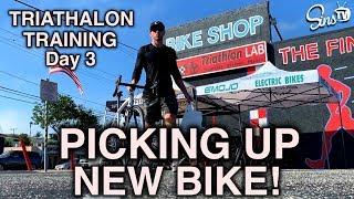 Triathalon Day 3    New Bike and Tri Gear