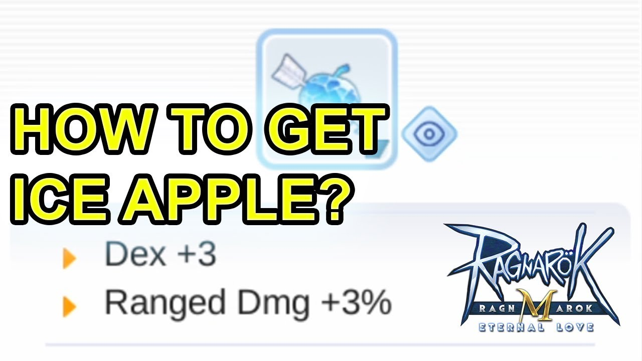 Download Ragnarok Mobile Unlock Ice Apple Quest Free Hg