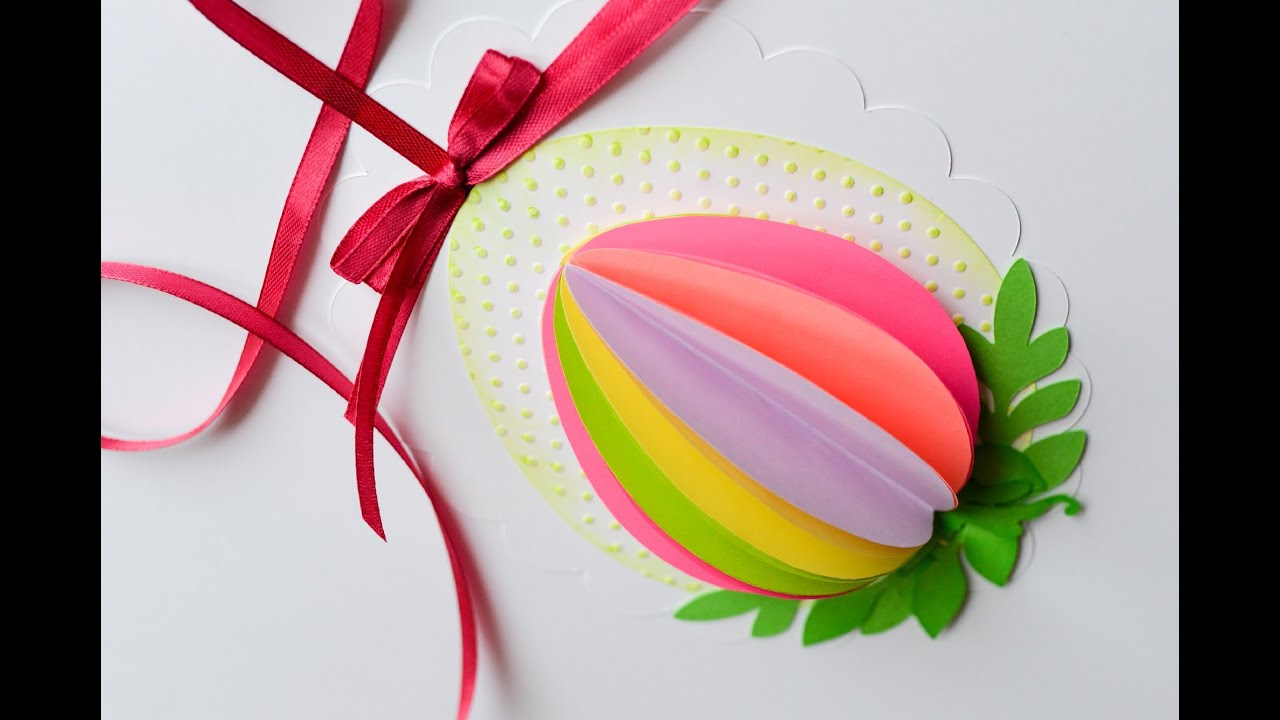 How To Make Easter Egg Spring Decoration Step By Step Ozdoba