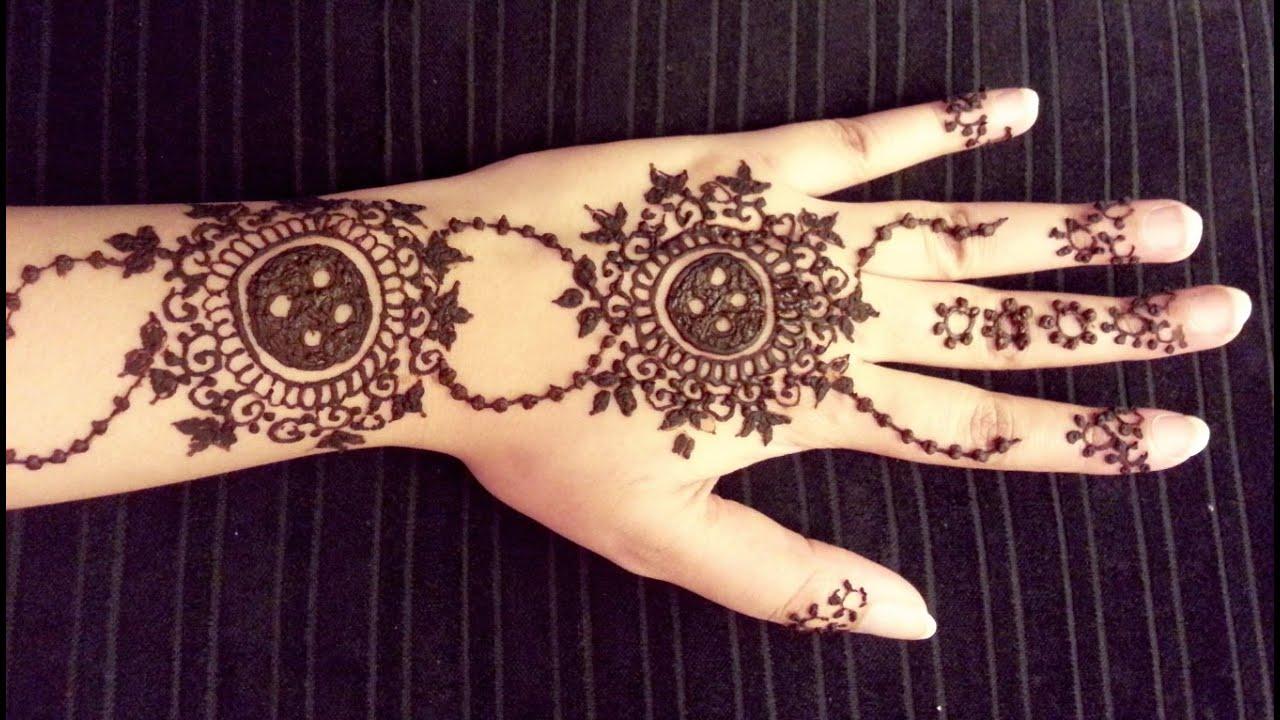 Mehndi Wrist Watch : Unique arabic henna easy simple mehendi tattoo latest
