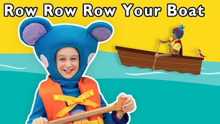 Row Row Row Your Boat + More | Mother Goose Club Nursery Rhymes