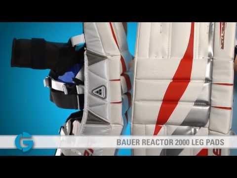 ec9d665d169 Bauer Reactor 4000 X Leg Pads