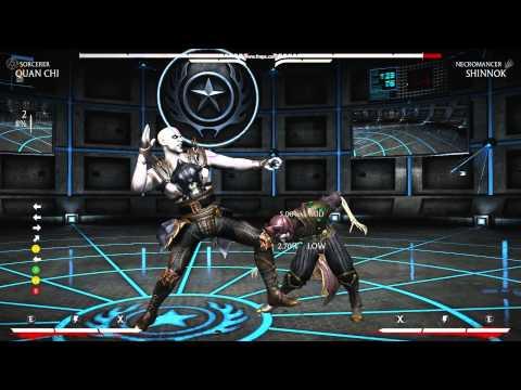 MKX Quan chi Sorcerer 64% Midscreen (chip Aura)