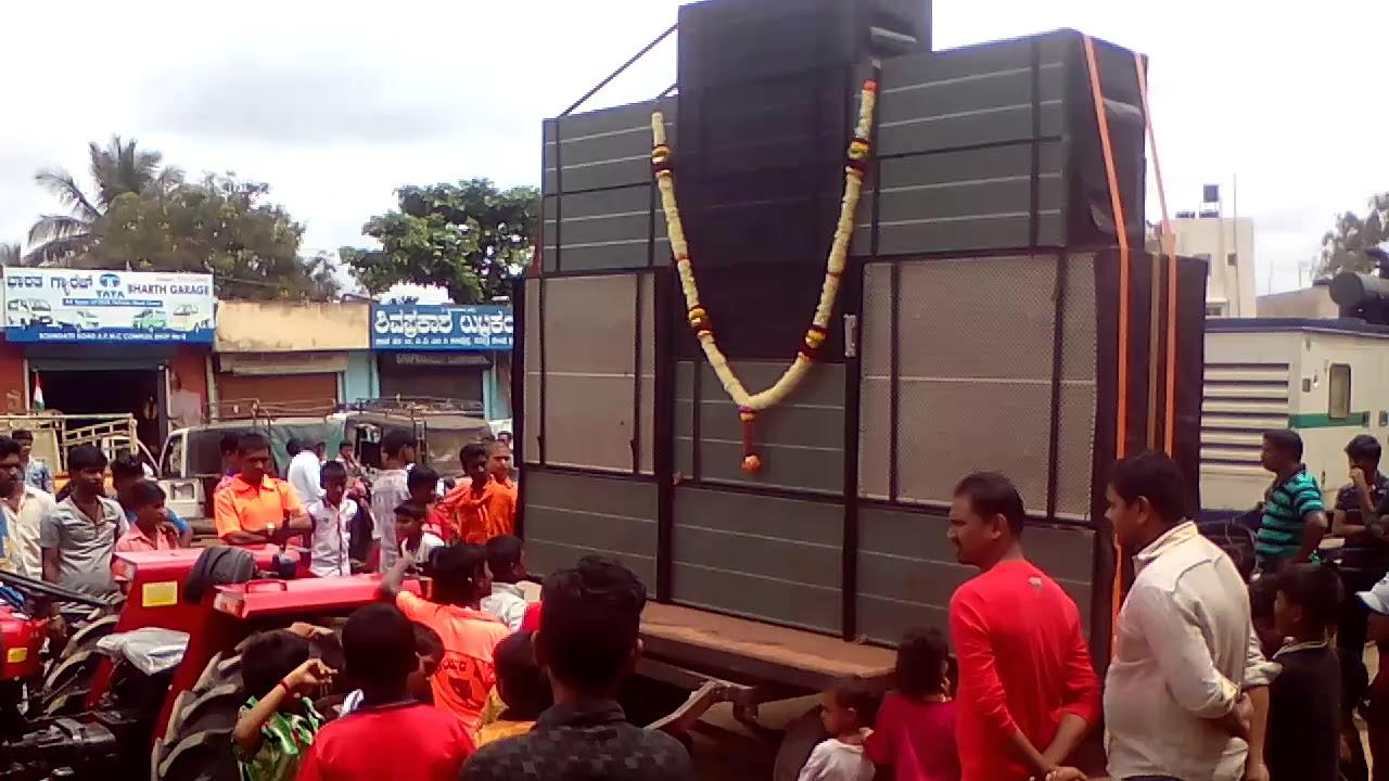 DJ KD v/s DJ PADMA in dharwad by KG Productions