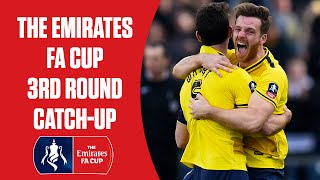 The Emirates FA Cup 3rd Round: Inc. Manchester Utd, Liverpool, Arsenal