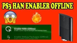 PS3 HAN enabler Offline - PS3 Super Slim jailbreak