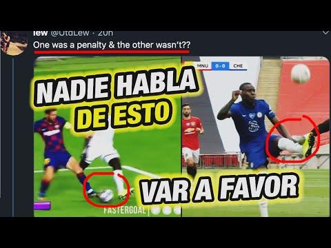 BAYERN DEBE TENER CUIDADO (VAR = AYTEKIN) - UEFA QUIERE QUE El BARCELONA DE MESSI GANE LA CHAMPIONS