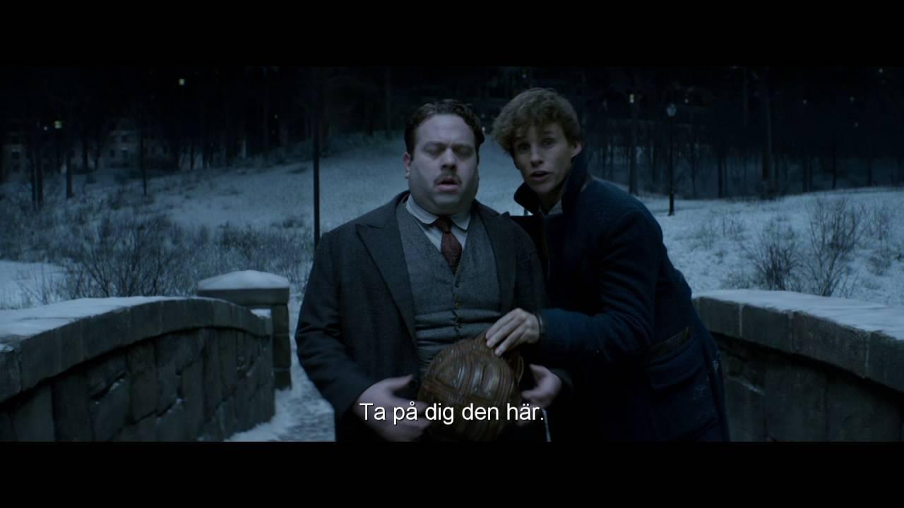 FANTASTISKA VIDUNDER OCH VAR MAN HITTAR DEM - Biopremiär 16 november - Officiell trailer 2 HD!