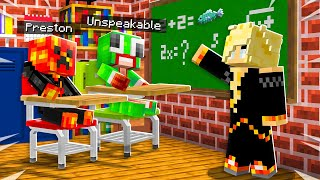 So I Took Baby Preston to Minecraft Math School... *suspended?*