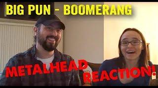 Boomerang - Big Pun (REACTION! by metalheads)