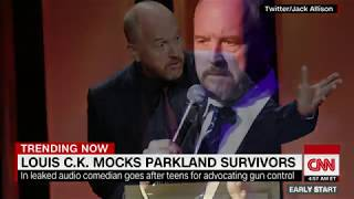 Comedian Louis C.K. mocks Parkland shooting survivors in leaked audio