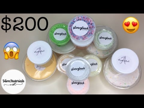$200 @SLIM3TUTORIALS REVIEW (They're the reason why I started my slime account!!)