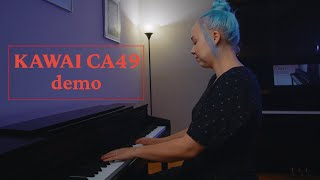Kawai CA49 Digital Piano Demo | San Mateo Piano