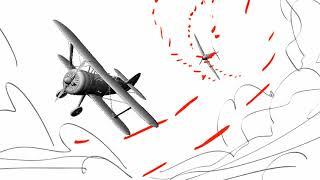 Archer Danger Island 904 Teaser Dogfight Storyboards.