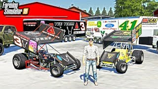 BUYING SPRINT CAR OFF CRAIGSLIST & STARTING A RACING TEAM! (ROLEPLAY) | FARMING SIMULATOR 2019