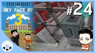 สายไฟแบบดี และ แบตเตอรี่สำรอง - มายคราฟ Sky Factory 3 #24