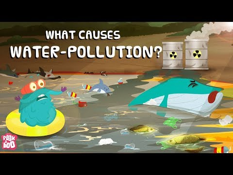 What is WATER POLLUTION? | What Causes Water Pollution? | The Dr Binocs Show | Peekaboo Kidz