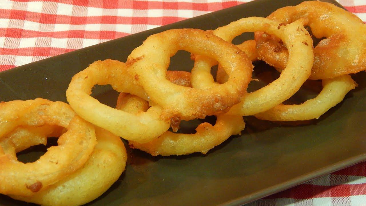 C mo hacer aros de cebolla crujientes receta f cil youtube for Como hacer comida facil