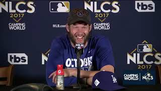 Clayton Kershaw Postgame Interview | Dodgers vs Cubs Game 5 NLCS