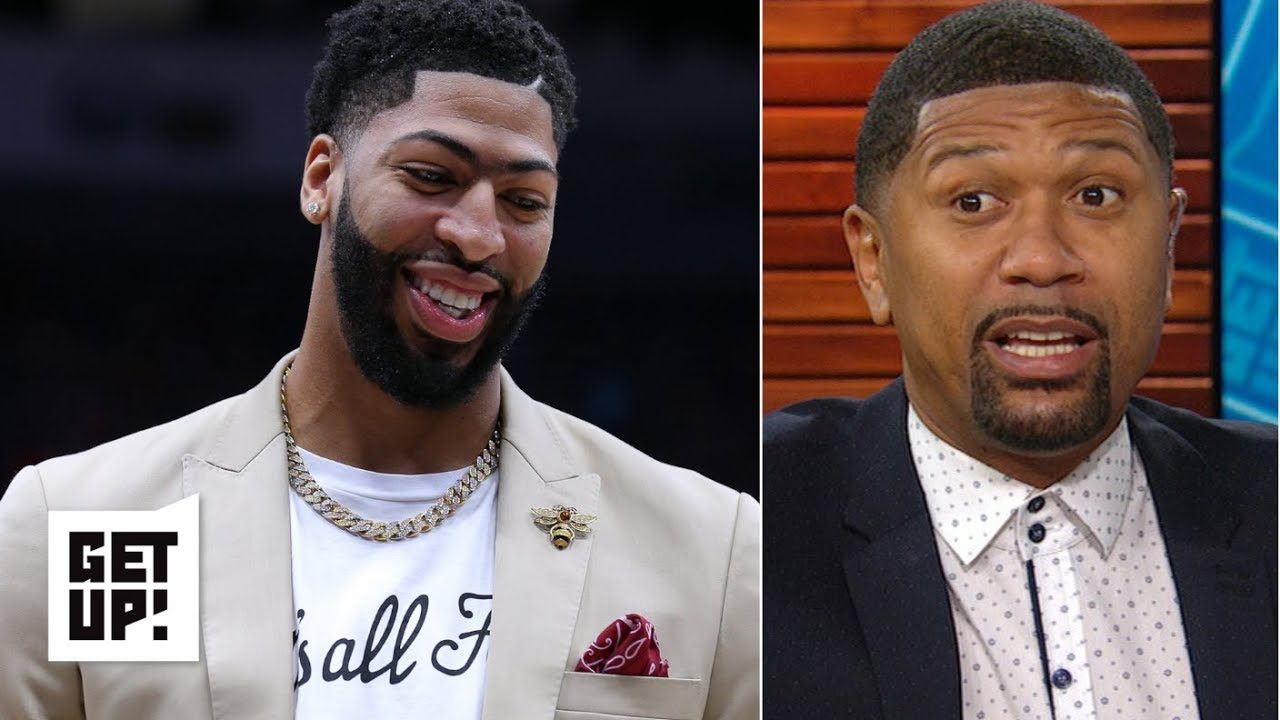 Anthony Davis That S All Folks Shirt Could Rub Pelicans Fans The Wrong Way Jalen Rose Get Up
