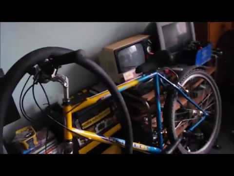 More Work On The Peugeot Mountain Bike