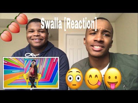 Jason Derulo ft Nicki Minaj  Swalla  REACTION