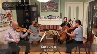 "Pogossian Family Quartet: ""Spring"" from Komitas Miniatures"