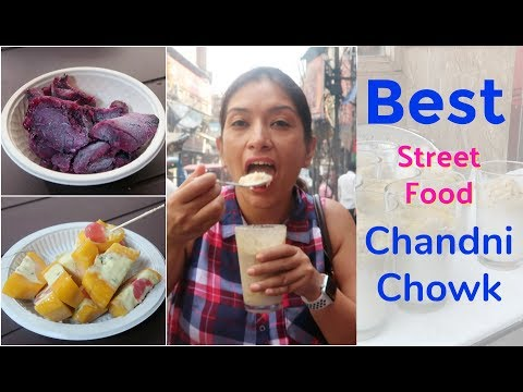 Indian Street Food, Chandni Chowk, Delhi | BEST Street Food in India | #NishaTries