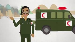 الصليب الأحمر والهلال الأحمر والكريستالة (البلورة) الحمراء، ماذا يمثلوا؟ بكل بساطة، الحماية.