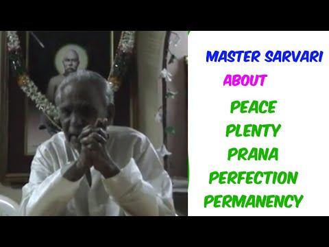 5 ASSURANCES OF MASTER C.V.V.  Explanatory Speech by Master SARVARI on his 78th Birthday