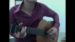 Tuổi hồng thơ ngây Guitar cover
