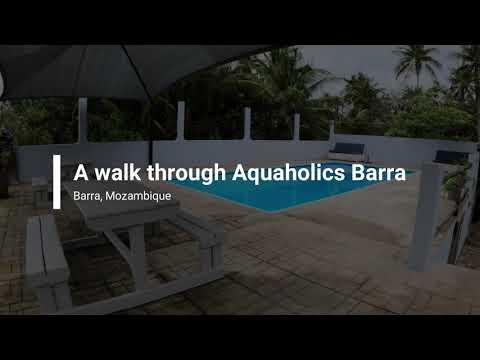 Vlog 20:  A walk through Aquaholics Barra Dive center, Mozambique