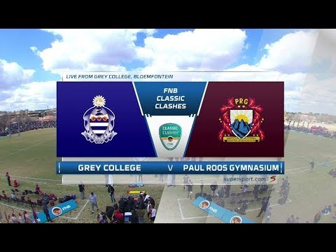 FNB Classic Clashes | Grey College vs Paul Roos | 2nd half