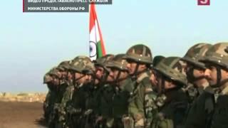 Под Волгоградом стартовали российско-индийские военные учения «Индра-2014»